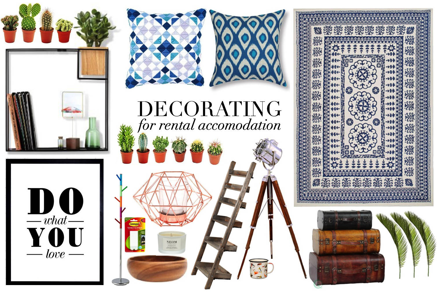 top tips for Decorating rental accomodation