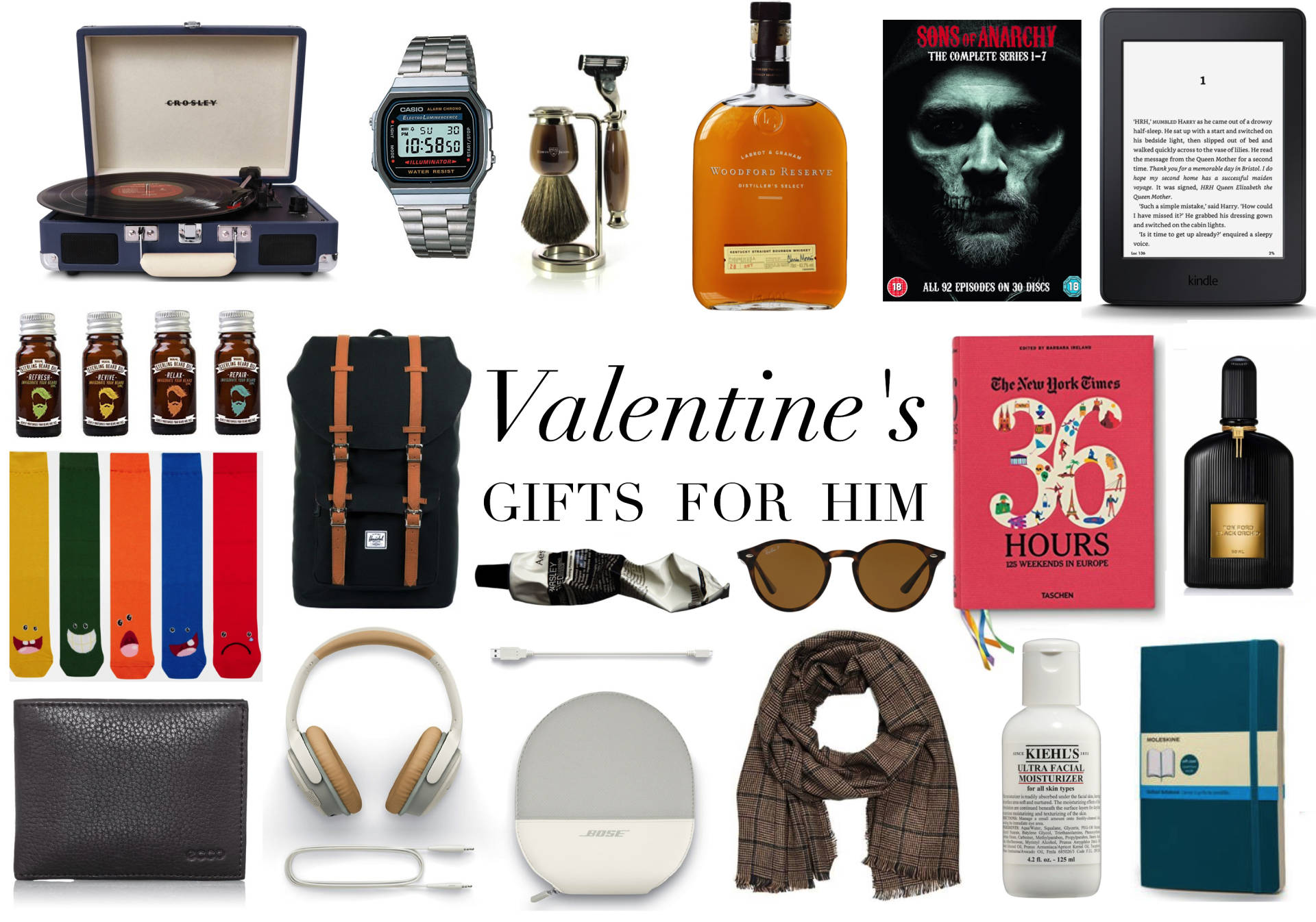 valentines gift guide for him
