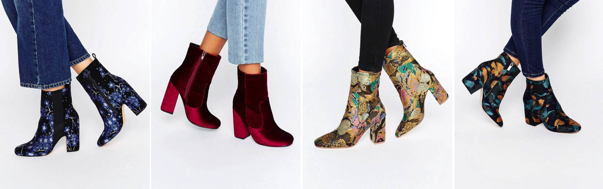 statement asos ankle boots