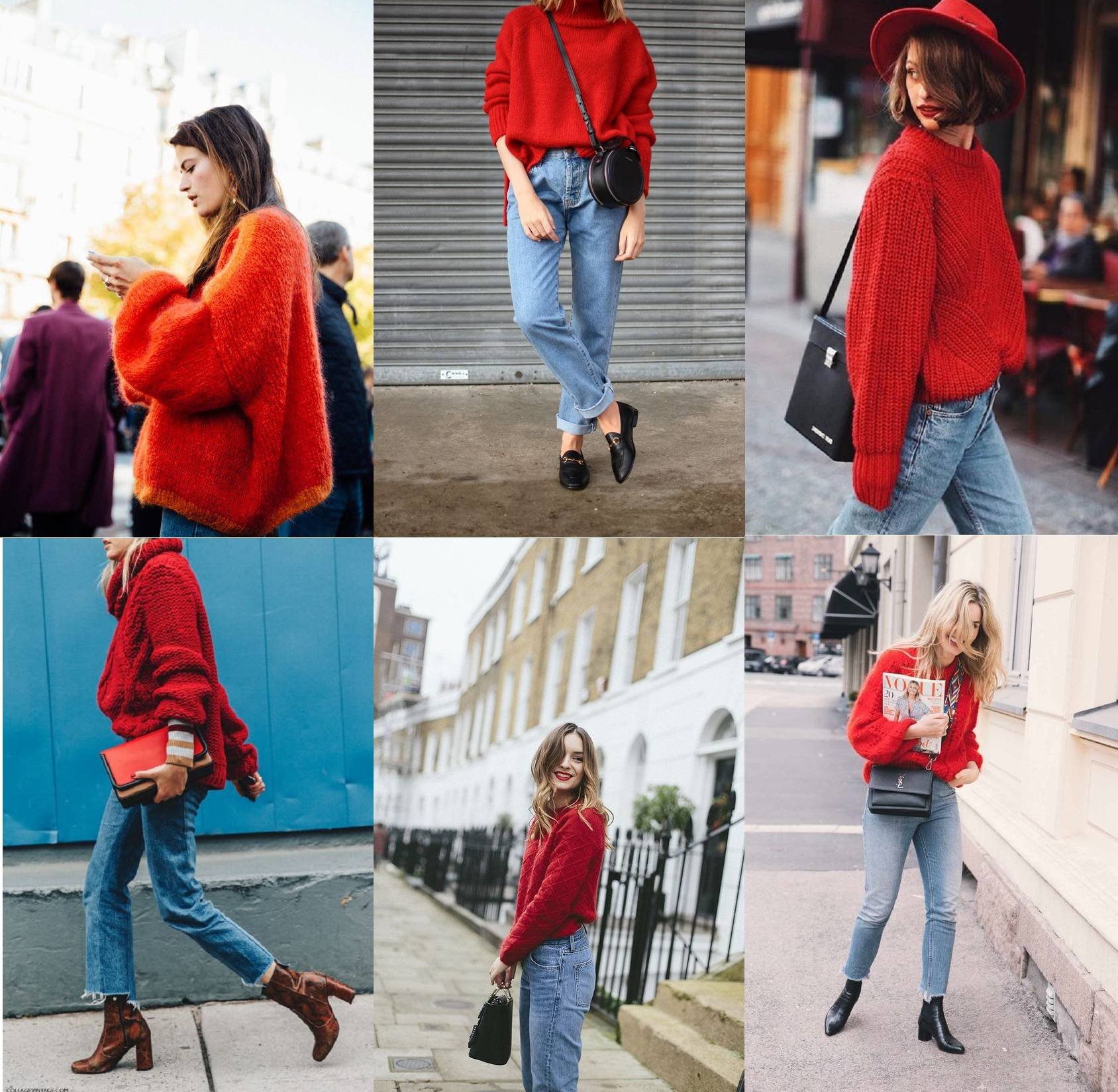 best red jumpers